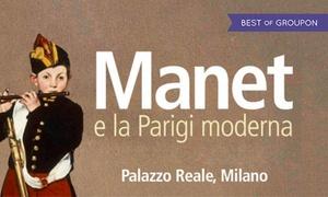 Manet - Giugno e luglio al Palazzo Reale di Milano: Manet - Ingresso e visita guidata dal 10 giugno al 2 luglio al Palazzo Reale di Milano