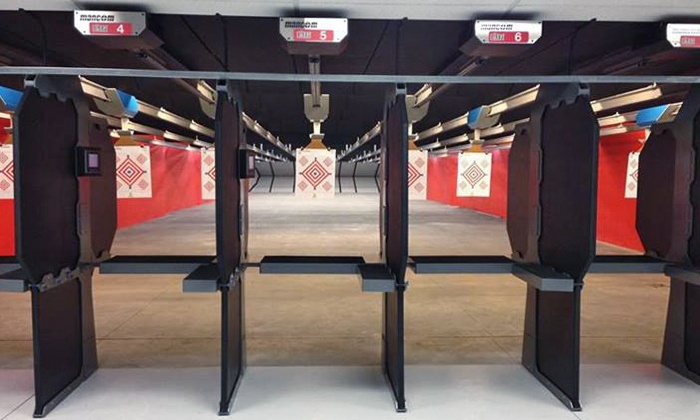Point Blank Range & Gun Shop - Multiple Locations: Range Package, VIP Intro Pass, or Classes at Point Blank Range & Gun Shop (Up to 58% Off)