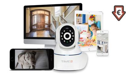 Caméra IP de surveillance Time2  HD , sans fil 360 degrés ,dès 54.98€ (jusqu'à 71%)