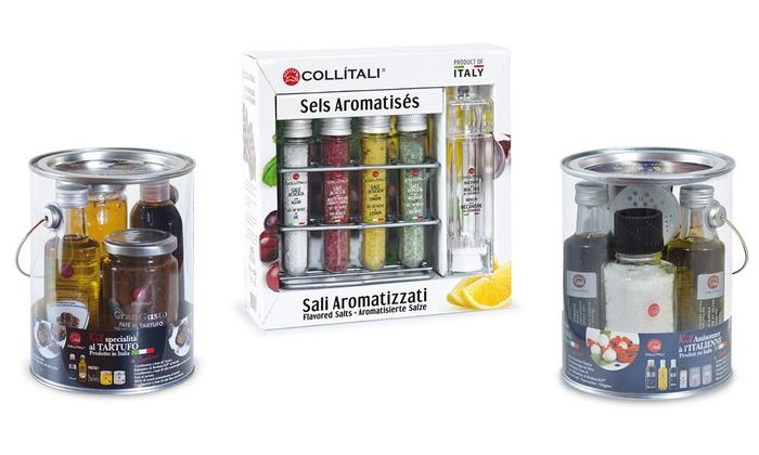 Groupon Goods Global GmbH: Pack d'huile d'olive et assaisonnement