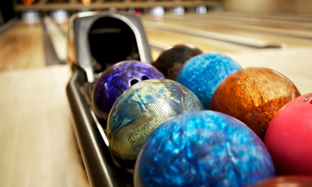 Two Games of Bowling and Pizza to Share for Up to Six People at The Dunes South Shields