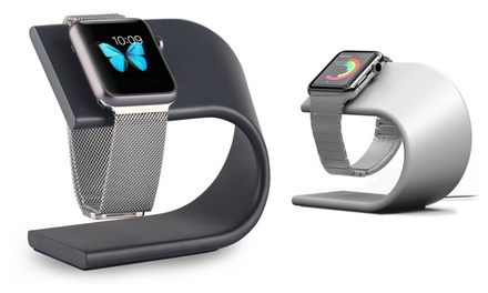 Aluminium oplaadbasis voor Apple Watch