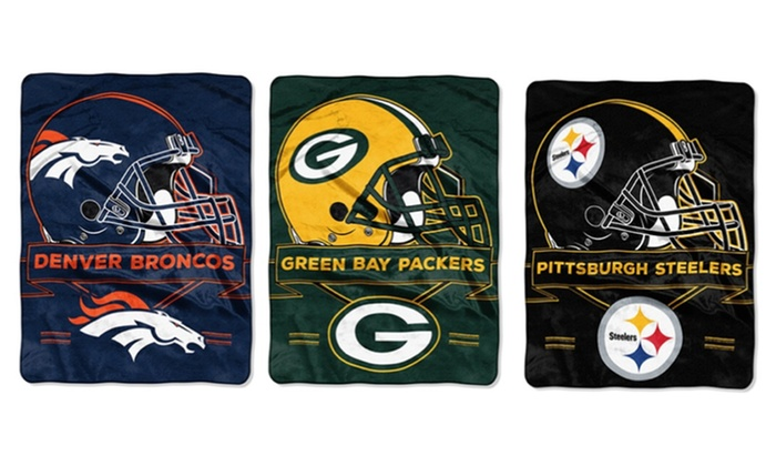"NFL 60""x80"" Extra Large Raschel Throw"