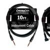 ChromaCast 10' Instrument Cable with Molded Ends