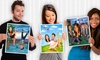 myDaVinci: Personalized Caricature Prints Featuring One or Two People from myDaVinci (Up to 53% Off). Six Options Available.