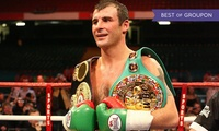 Evening with Joe Calzaghe, Adult Ticket with Three-Course Meal, Thursday 26 October 2017 (Up to 21% Off)