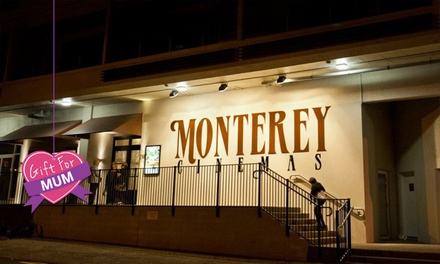 Movie Ticket with Popcorn ($13) or Wine ($18) at Monterey Cinemas   Howick (Up to $26.50 Value)