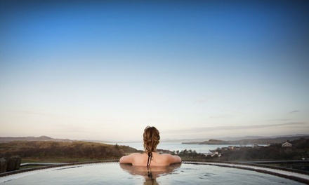 Co. Donegal: 2 or 3 Nights for Two with Breakfast, Bubbly and Spa Credit at 4* The Shandon Hotel and Spa