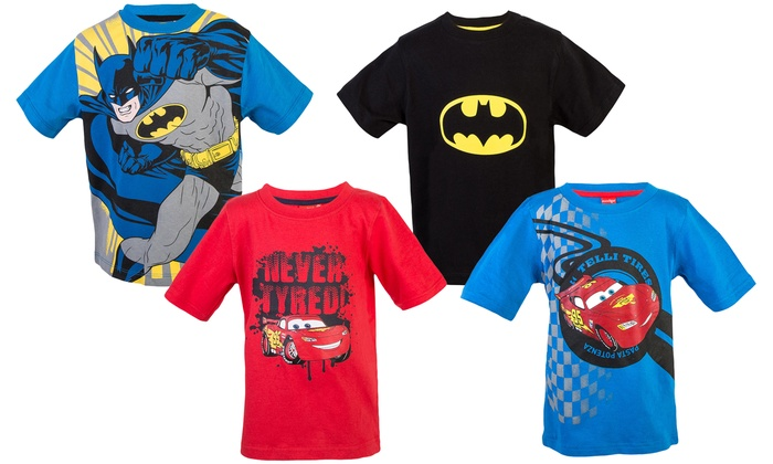 Groupon Goods Global GmbH: Two Character-Themed T-Shirts for Boys