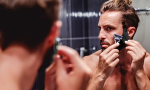 Guide de rasage pour la barbe