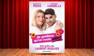 """""""Je préfère qu'on reste amis"""" à la Comédie de Grenoble"""
