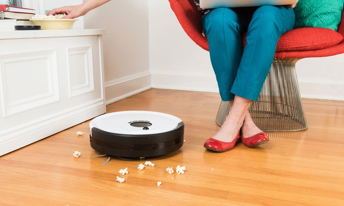 50% off on pet robotic vacuum cleaner | groupon goods