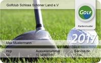 International anerkannte Greenfee-Mitgliedschaft für das Jahr 2017 bei DGM Deutsche Golf Marketing GmbH (71% sparen*)