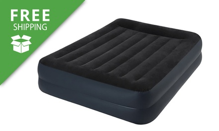 Free Shipping: Intex Queen Raised Air Bed with a Built in Pump: One ($59) or Two ($99)