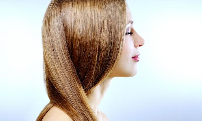 J.J. at California Cuts - Turlock: Express or Organic Keratin Hair Smoothing from J.J. at California Cuts (Up to 66% Off)