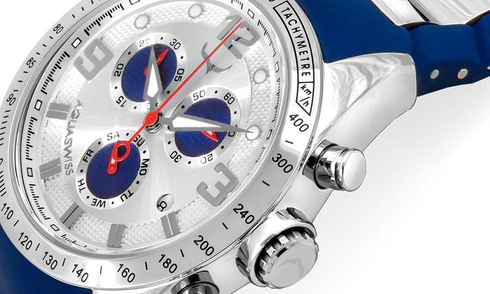 AQS Brand Inc: Aquaswiss Unisex-Armbanduhr in der Farbe nach Wahl inkl. Versand