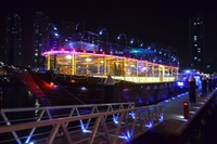 Dubai Marina Dhow Cruise for Up to Four with Sunset Desert Safari (Up to 32% Off)
