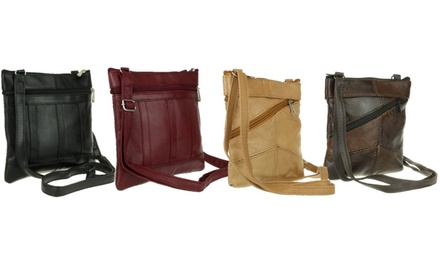 Sally or Dolly Soft Leather Cross-Body Bag