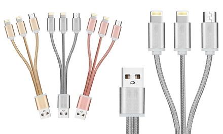 FX Powabud Braided USB Data Cable