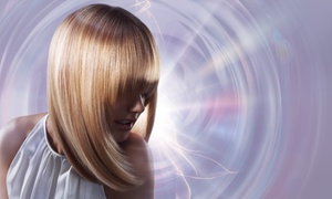 Infinite Salon: $125 for a Haircut, Highlights, and Style — Infinite Salon ($250 Value)