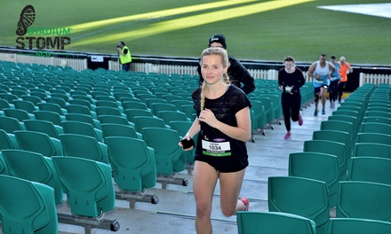 Stadium Stomp Sydney 6,700 Stair Challenge Entry .95 2 June SCG Stadium Sydney Don't Pay $64.95