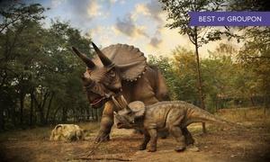 Dino Świat: Muzeum Dinozaurów: 1 bilet za 17,50 zł i więcej opcji w Dino Świecie w Katowicach (do -40%)