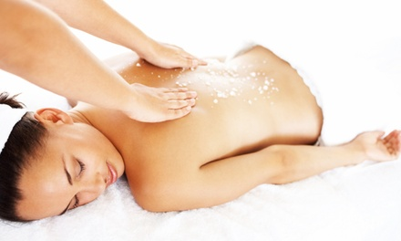 One 60- or 90-Minute Swedish Massage, Aromatherapy, and Coconut Back Scrub at Anew Holistic Health (50% Off)