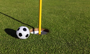 Up to 39% Off Round of FootGolf at Missing Links at Missing Links, plus 6.0% Cash Back from Ebates.