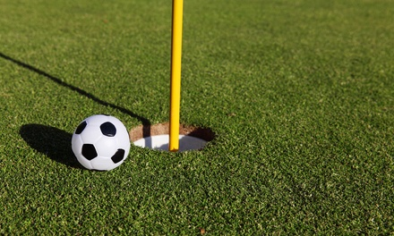 9holes flinggolf, fungolf of footgolf voor 2 tot 4 personen bij Golf4all