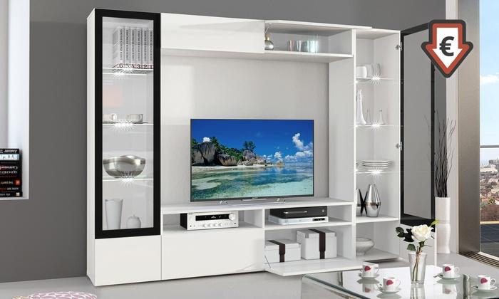 Ensemble Tv Led Luna Ou Tania Groupon Shopping