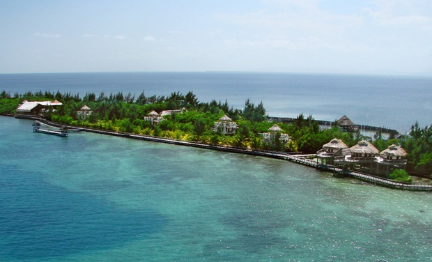 TripAlertz wants you to check out 3- or 5-Night Stay with Meals & Drinks at Thatch Caye Resort in Belize. Combine for Multiple Nights. Caribbean-Side Resort on Belizean Island - Belizean Island Resort