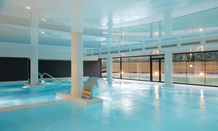 Balneario alhama de arag n groupon for Pediluvio piscina
