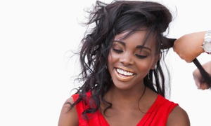 Essentials Soul-on LLC: Haircut Package, Sew-In Weave/Extension Package, or Twist-Style Package at Essentials Soul-on LLC (Up to 60% Off)