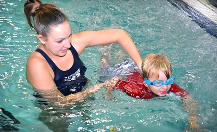 901 Route 10: Four 20-minute private swim lessons