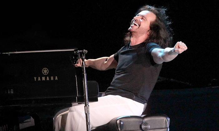 NAC Entertainment - Landmark Theatre: Yanni at Landmark Theatre on August 10 at 7 p.m. (Up to 54% Off)