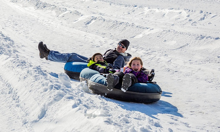 Snow Valley in Barrie offers the best snow tubing terrain in Ontario. With 3 lifts and 14 chutes over 10 stories high, grab your friends & your family, and prepare for the thrill of snowtubing at Snow Valley! For the little ones (under 42