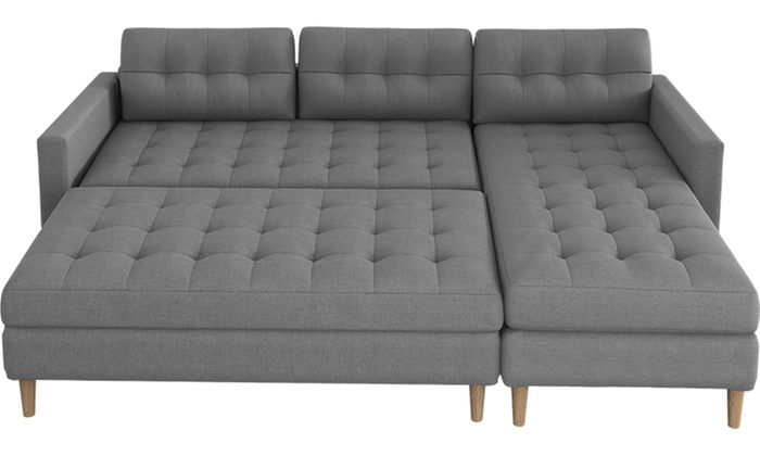 Selsey Copenhagen Corner Sofa with Pouf and Optional Tabletop