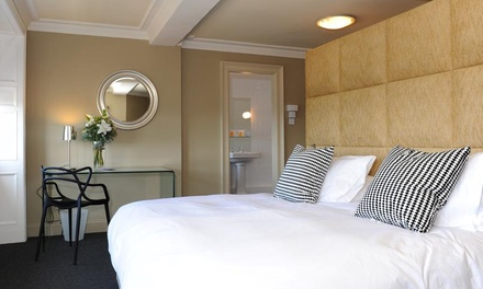 Edinburgh: 1 or 2 Nights for Up to Four with Breakfast, Afternoon Tea, Prosecco and Late Checkout at 4* B+B Edinburgh