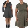 Sociology Spacedye Flippy Dress (Plus Sizes) | Groupon Exclusive