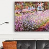 """$39.99 for a 26""""x18"""" Impressionism Canvas Print with Wall-Mounting Kit"""