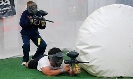 Indoor Climate controlled Paintball Outing with Equipment for One, Two, Four, or Six at Gatsplat (Up to 59% Off)