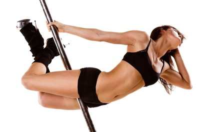 5 or 10 Pole and Dance Fitness Classes at The Dollhouse Studios (Up to 66% Off)