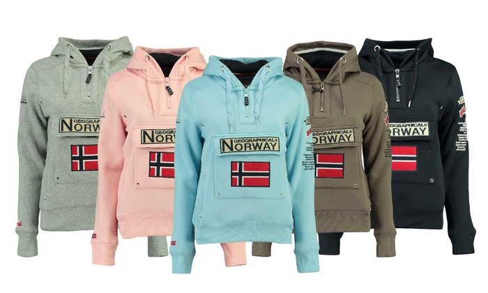 Sweat capuche Geographical Norway | Groupon