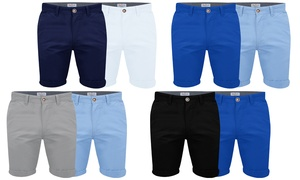 Pack 2 Shorts Chino Stallion