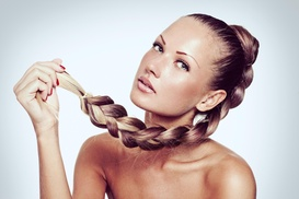 Hair Do or Dye: Color, Highlights, and Blow-Dry from Hairdo or Dye (59% Off)