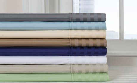 800-TC Hotel New York Cotton-Rich Sheet Set!