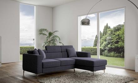 Fino a 73 su divano con penisola groupon for Groupon shopping arredamento