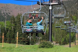 Up to 36% Off Arizona Snowbowl Summer Scenic Chairlift Ride  at Arizona Snowbowl, plus 9.0% Cash Back from Ebates.