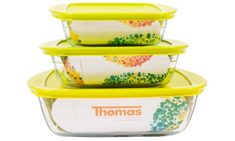 Thomas Rosenthal So Clear Three-Piece Food Container Set