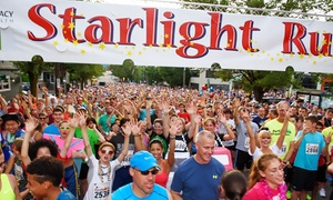 Starlight Run: $15 for Entry for One Adult to Starlight Run 5K on June 4 ($25 Value)
